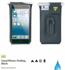 TOPEAK BIKE BICYCLE iPHONE 6 PLUS + SMART PHONE HANDLEBAR STEM HOLDER  DRY BAG