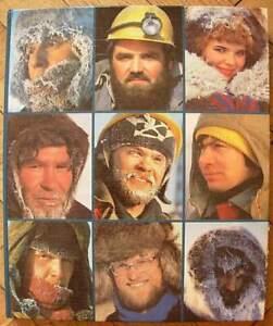 1986 Man and the North Soviet Russian photo album Russia Sever Arctic Siberia