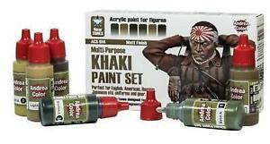 Kaki Paint Set