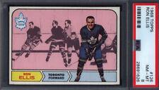 1968 Topps #126 Ron Ellis Maple Leafs PSA 8 *698157