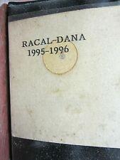 Racal-Dana 1995 1996 Universal Timer/Counters Instruction Manual 980599