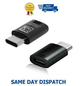 USB-C To Micro-USB Converter Adapter For Samsung Galaxy S10 S10+ Plus 5G