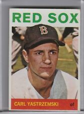 1964 TOPPS #210 CARL YASTRZEMSKI BOSTON RED SOX HOF A036