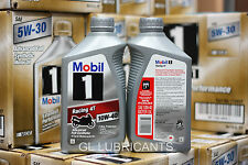 Mobil 1 Racing 4T 10W40 Motorcycle Oil 5.67L/6-Quart  [Brisbane Address ONLY]