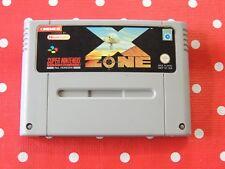 X Zone SNES Super Nintendo nur Modul PAL SNSP-XZ-SCN - 100% original