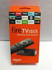 Amazon Fire TV Stick with Alexa Voice Remote-NEW- UNOPENED- SHIPS IN 3 BIZ DAYS!