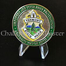 C22 Vermont Highway Patrol State Police Trooper Challenge Coin