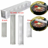 6/12 inch BBQ Smoker Tube Generator Wood Pellet Grill Cold Smoke Steel Mesh