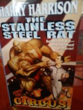 The Stainless Steel Rat Joins the Circus by Harry Harrison (2000 PB) 1st Ed VGC