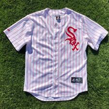Majestic Red White Chicago White Sox Pierzynski MLB Baseball Alternate Jersey M