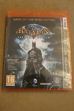 Batman Arkham Asylum PC DVD PL/ENG STEAM Polish New Sealed Polska
