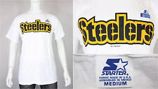 Pittsburgh Steelers starter t-shirt M/L vintage new deadstock 90's football