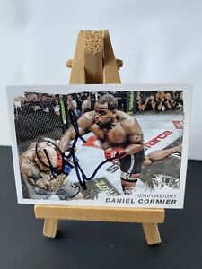 Daniel Cormier Signed Topps UFC Moment Of Truth Trading Card