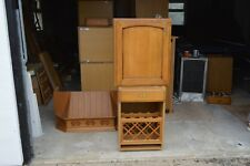 French Oak Kitchen units and some appliances with drawers and shelves