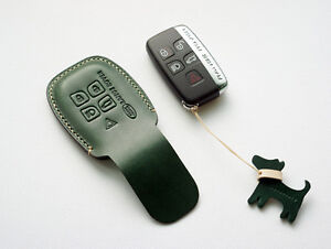 Leather Remote key cover fob for Range Rover Sport Evoque