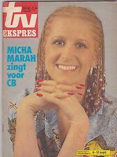 SEPT 1 1980 TV EKSPRES foreign tv magazine MICHA MARAH