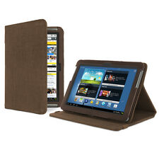 Samsung Galaxy Note 10.1 (2012) Tablet cacao marrón natural cáñamo Funda Protectora