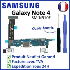 NAPPE DOCK CONNECTEUR DE CHARGE MICRO BOUTON HOME SAMSUNG GALAXY NOTE 4 N910F