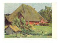 """AK, Künstlerkarte von A. Johannsen, """"Eiderstätter Hauberg"""", Schleswig Heimatbund"""