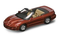Pontiac Firebird Convertible 1999 Sunset Orange 1:43 Model 94240O YAT MING