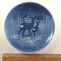 Collectible B & G 1965 Plate-Jule After BRINGING HOME THE TREE Bing & Grondahl