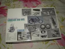 GUNZE 1/12 HIGH-TECH MODEL KAWASAKI 650 W1S SUPER KIT BIKE MOTOCYCLE
