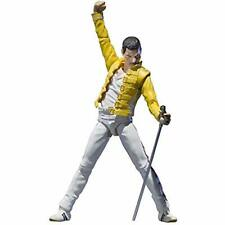 BANDAI S.H. Figuarts Freddie Mercury Queen Action Figure w/ Tracking NEW