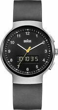 Braun Men's BN0159SLBKBKG Classic Watch with Silver Case & Black Dial