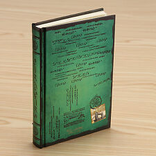 Pro Creative Stationery Green Classic Vintage Notebook Journal Diary Thick Page