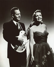 Les Paul and Mary Ford 8x10 photo T3971