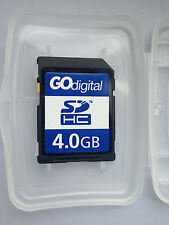Go Digital SDHC 4.0GB Memory Card for Digital Cameras and Other Devices -SD-K04G