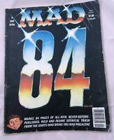 MAD MAGAZINE MAD 84 1984 DON MARTIN SERGIO ARAGONES DAVE BERG AL JAFFEE TV RADIO
