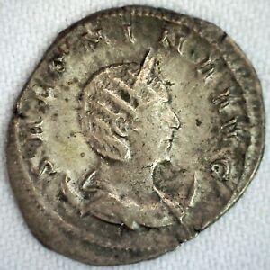 Ancient Roman Salonina Antoniniana Wife of Gallienus Silvered Coin You Grade