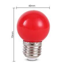 Ampoule Globe Table Lamp Bulb E27 Coloured Round Golf Ball Light LED  220V Red
