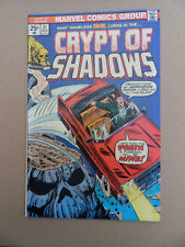 Crypt Of Shadows 21 . Final Issue . Marvel 1975 . VF - minus