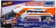 Nerf N-Strike Elite Rough Cut Blaster 2x4 Dart Gun Pump-Action Hasbro DEALS