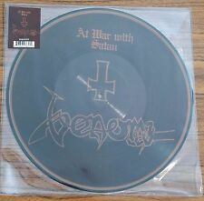 Venom AT WAR WITH SATAN Limited Edition UK RSD 2017 New Vinyl Picture Disc LP