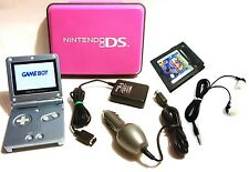 NINTENDO DS GAMEBOY ADVANCE SP AGS-101 ELECTRONIC GAME 2002 SET