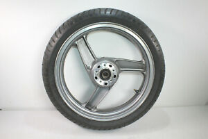 Kawasaki ZZR 1100, ZXT10C, Vorderrad, Felge vorne, silber, unfallfrei F-1258