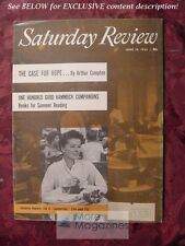 Saturday Review June 18 1955 KATHERINE HEPBURN ARTHUR COMPTON CHARLES EINSTEIN
