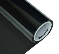 "Window Tint Roll 05% vlt -Limo Tint DARK - 10""x6' - Windshield Sun Strip Tint"