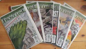 FRONT LINE #1-6 World War Hulk (lot Run) (2007 MARVEL Comics) ~ VF/NM Book