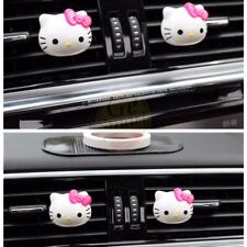 1 Pair Hello Kitty Auto Car Home Decor Air Freshener Perfume Fragrance