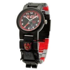 LEGO Kids Star Wars Darth Maul Mini-Figure Sport Watch 9005527 Retail $25