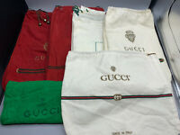 Lot of 22 Pre-owned Italian Gucci Designer Dust Bags