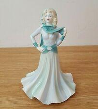 "Coalport Ladies of Fashion ""Tender Thoughts"" 1990 Figurine"