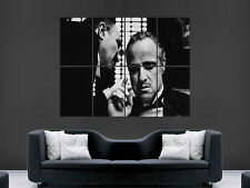 THE GODFATHER CLASSIC MOVIE TV CINEMA FILM HUGE LARGE WALL ART POSTER PICTURE