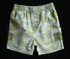 Baby clothes BOY 6-9m NEW! George khaki/beige/green cotton shorts SEE SHOP!