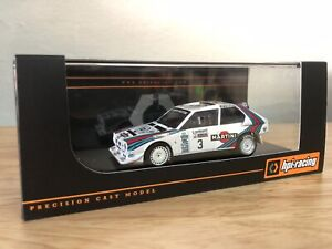 LAST ONE! HPI #8636 Lancia Delta S4 Martini 1985 RAC Rally 1/43 model