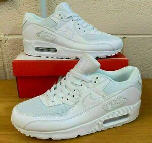 Nike Air Max 90 Triple Mens Trainner Black White Brand New Sizes From UK 6 - 10